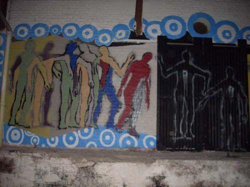 Mural Derechos Humanos