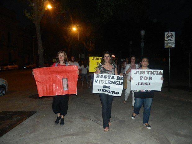 Marcha por Jésica Niciforo