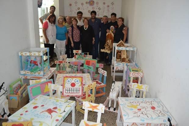 """""""Casa del Niño"""" recibió solidaridad de """"El arte de ayudar"""" e internos de Unidad N°5"""