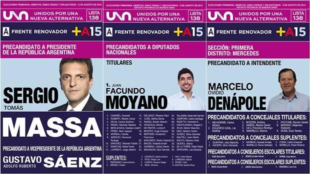 Frente Renovador: boletas, campaña y Denápole que invita a estar alertas