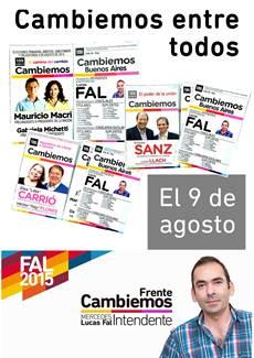 Lucas Fal Intendente 2015