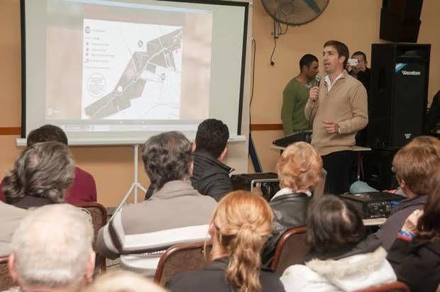 Parque Municipal: presentó Juan Ustarroz proyecto para recuperarlo y ponerlo en valor