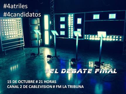 Debate - Candidatos a intendente