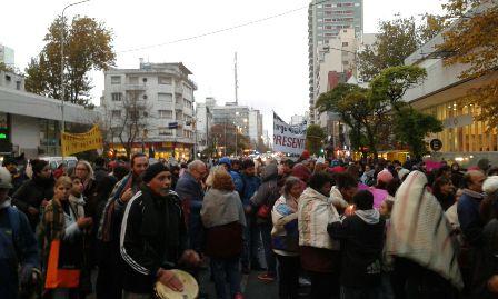 Foto de Archivo. Marcha en Mar del Plata