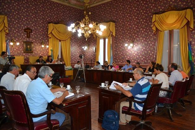 El veto a los artículos del presupuesto quedó en comisión