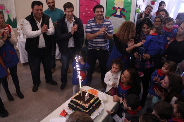 Once años de celebración para el Jardín Maternal N° 1