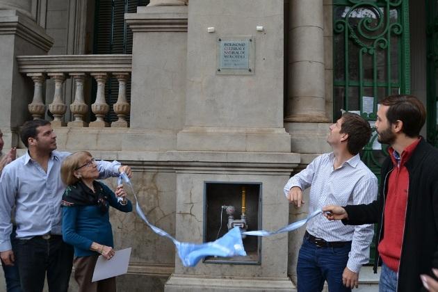 Oficializaron a la Biblioteca Sarmiento como Patrimonio Cultural y Natural de Mercedes