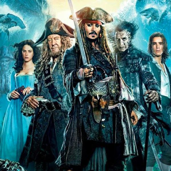 Los Piratas del Caribe invaden el Cine Mercedes