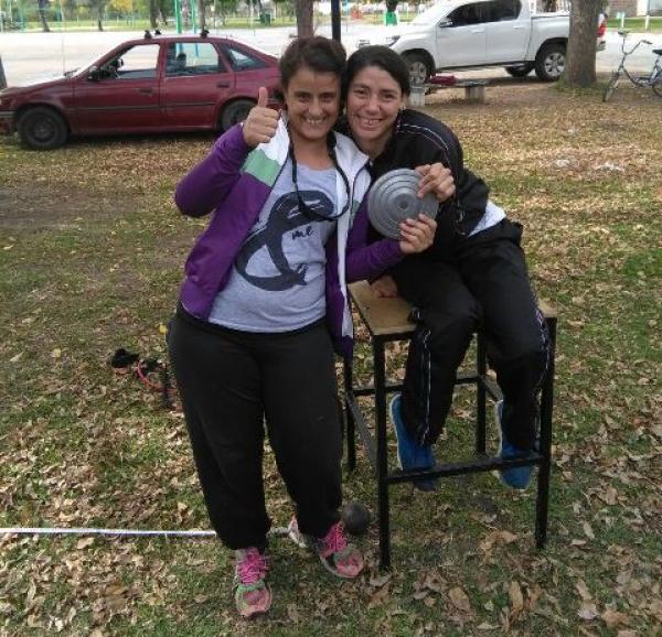 Romina Fernández, rumbo a Chaco, para disputar el Sudamericano