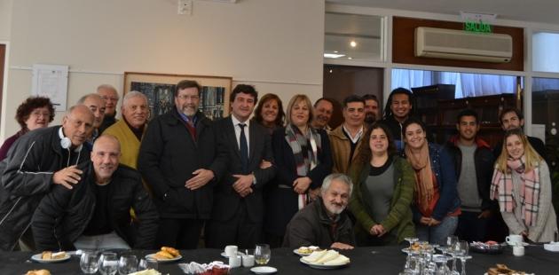 Abogados destacaron la labor de Mariano Moreno y de los periodistas