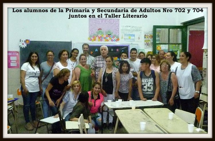 Encuentro de literatura y narración en el Escuela de Adultos