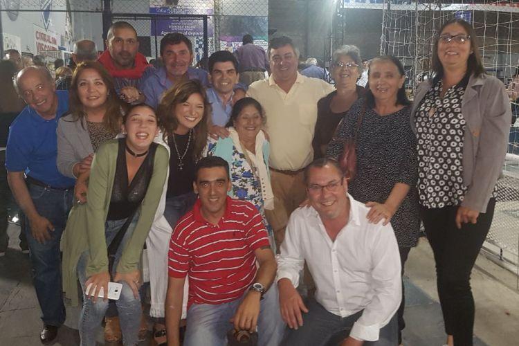 Mercedinos en la reunión de Massa con referentes de la primera sección electoral