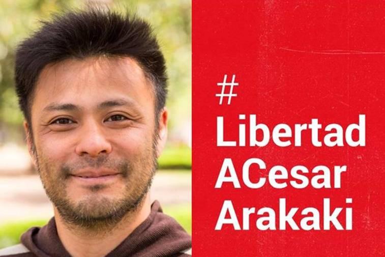 El Partido Obrero de Mercedes impulsa campaña por la libertad de Arakaki