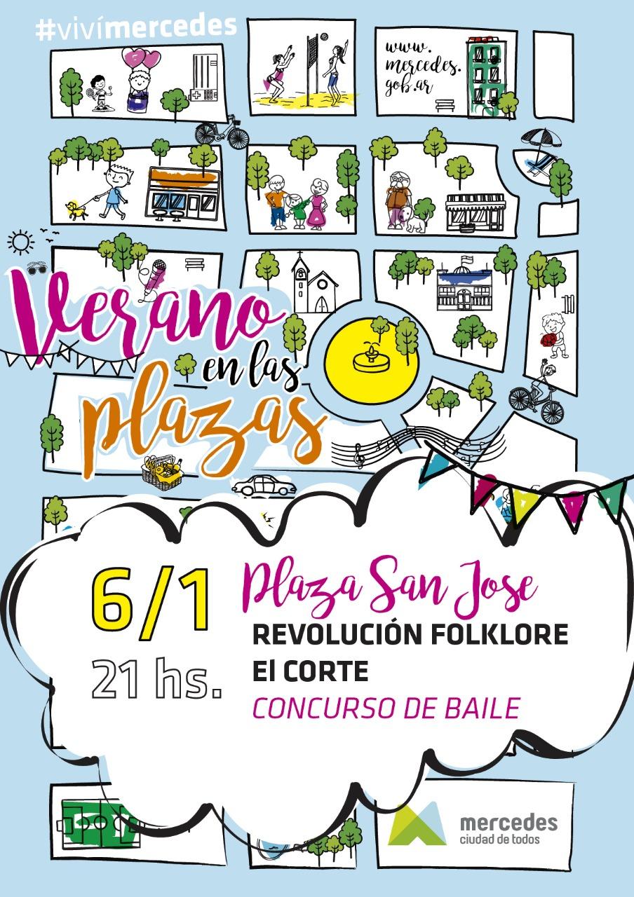 Música en las plazas arranca este fin de semana en San José y San Martín