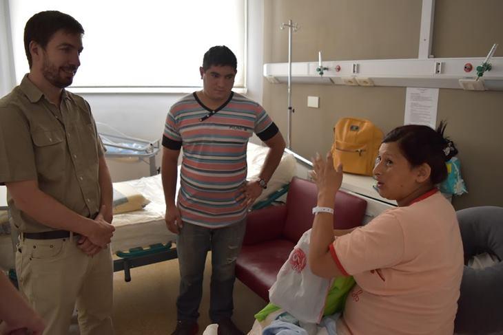 Benjamín, primer bebé del año, es parte del programa «Primeros Mil Días»