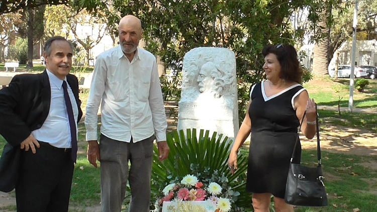 Payró fue homenajeado por los escritores mercedinos