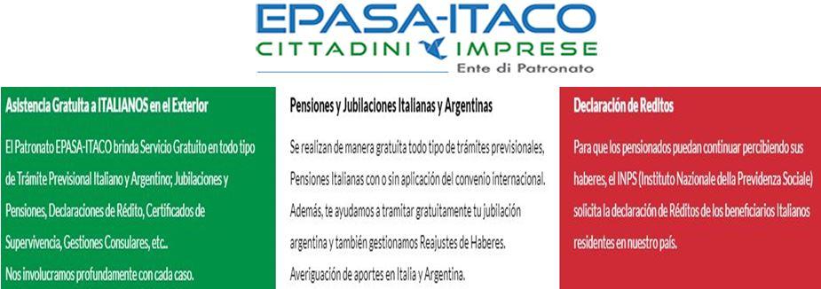 Sociedad Italiana: Nueva visita del Patronato
