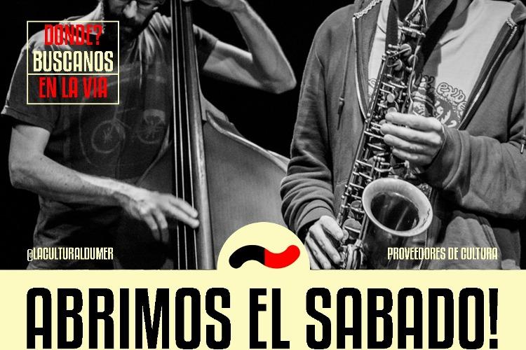 Sábado de música gratis en La Cultural Dumer