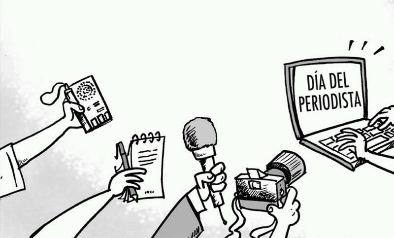 """""""Ser periodista es tener tinta por sangre, sentidos atentos y un disco rígido con contenido actualizable"""""""