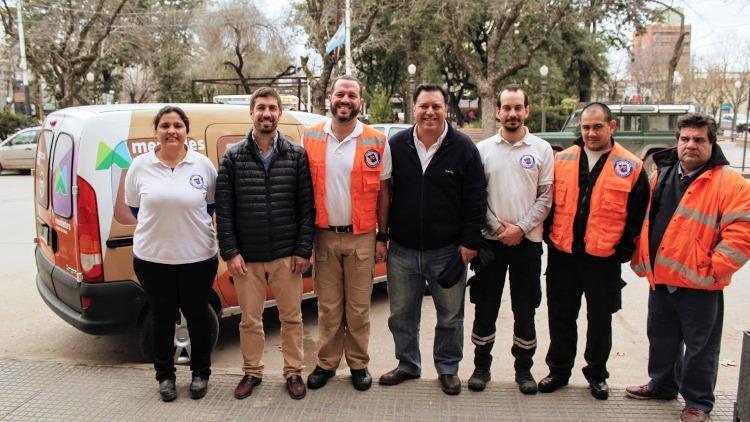 Protección Civil Mercedes incorpora vehículos
