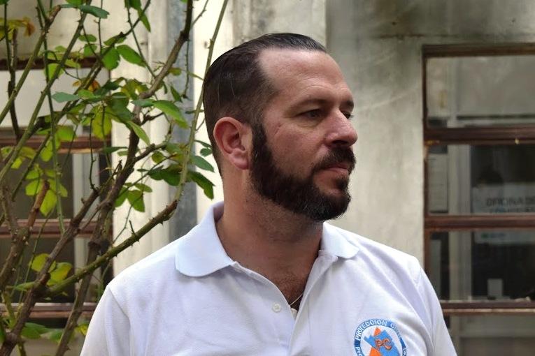 Esteban Chalá fue nombrado vicepresidente del «Congreso Internacional de Búsqueda, Rescate y Asistencia Humanitaria»