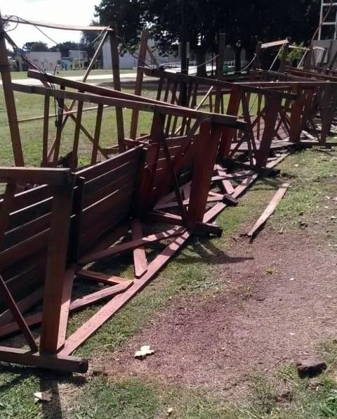 Vandalismo en La Trocha indignó a vecinos, feriantes y familias que disfrutan en predio