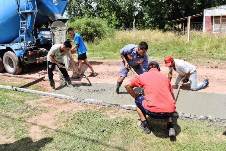 Obras en Altamira con el presupuesto participativo