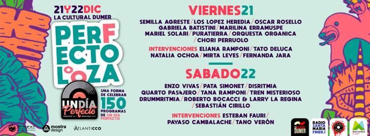 Festival Perfectolooza con folklore y rock