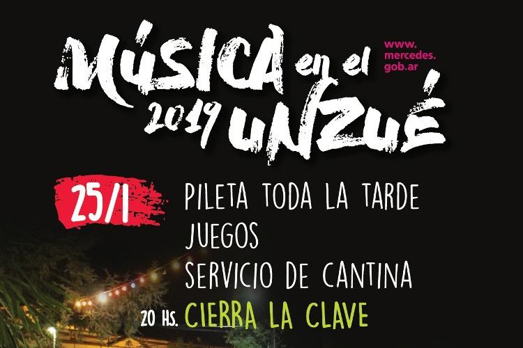 Viernes de música en el Unzué