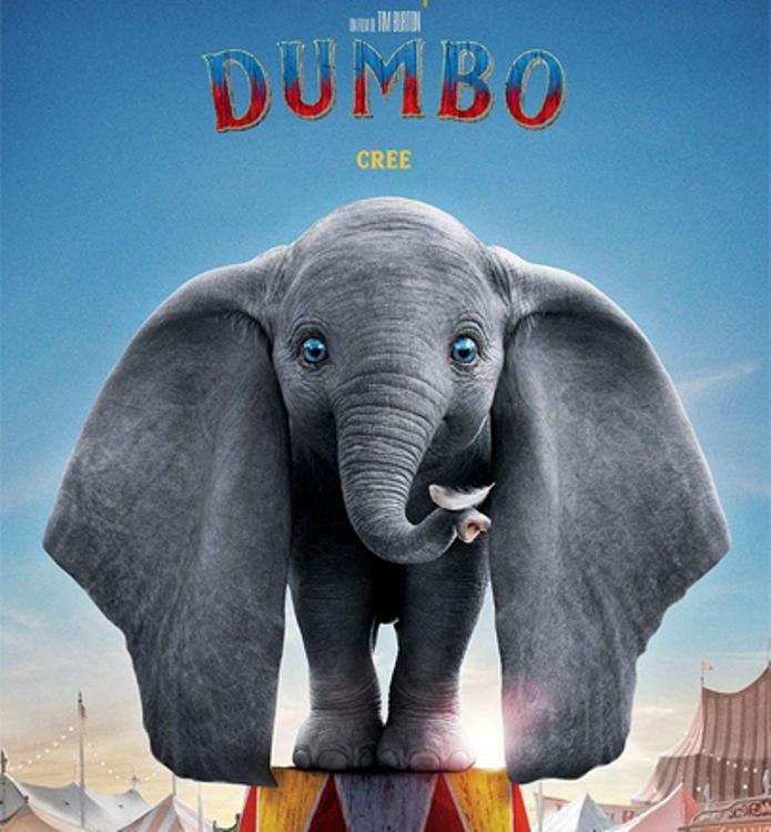 Dumbo de estreno en el Cine Mercedes
