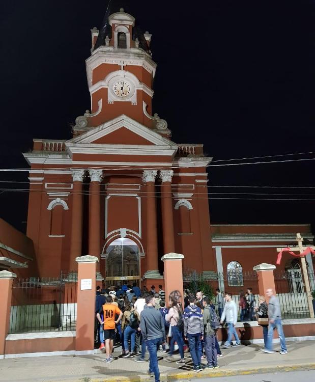 Visita a la siete Iglesias en jueves santo