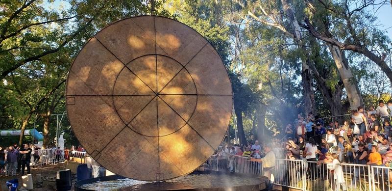 Dio inicio la 20° Fiesta Provincial de la Torta Frita