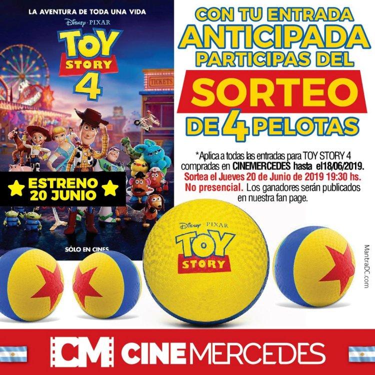 Estreno mundial de Toy Story 4 en el Cine Mercedes