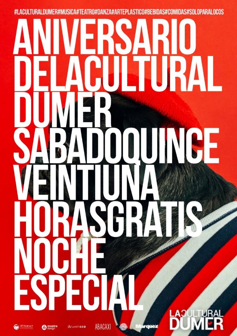 Festejos por el primer año de La Cultural Dumer
