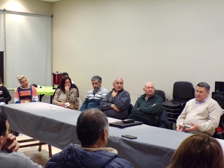 """Fabián Díaz: """"Hay intereses que buscan la desindustrialización y precarización del trabajo"""""""