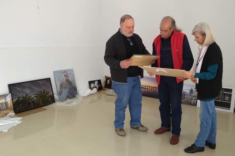 Gabriel Otero ganó el premio local del Salón Fotografía