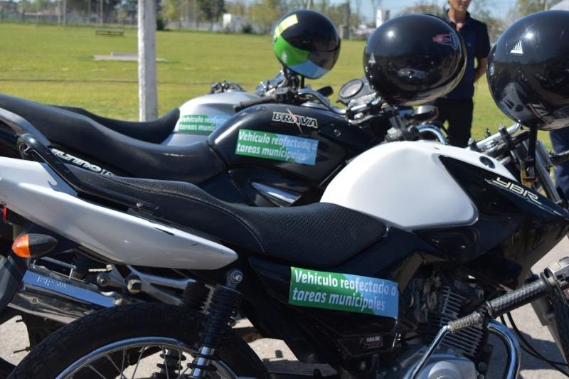 Municipio reafecta motocicletas para usos en servicios municipales
