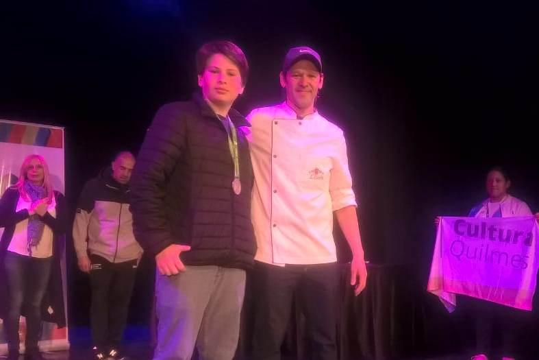 Ignacio Castro ganó la medalla de plata en Cocina