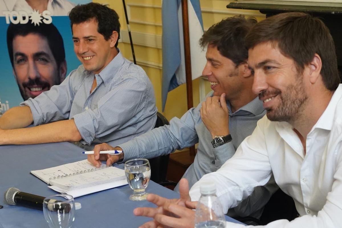 Axel Kicilof visitó Mercedes, se runió con productores rurales y empresarios