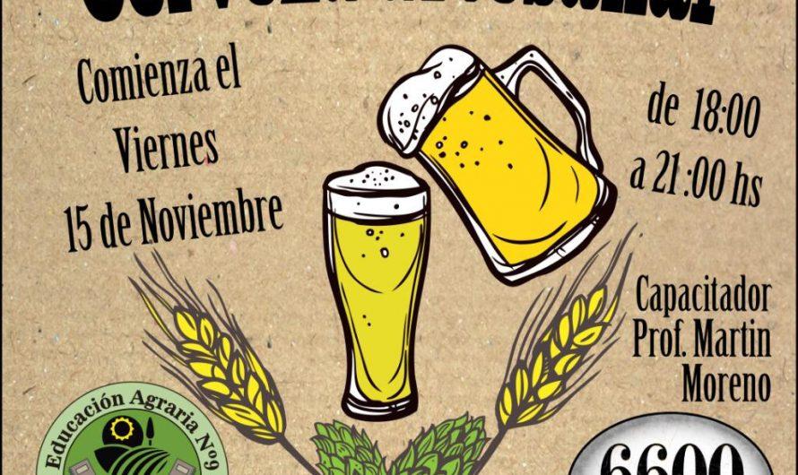 Arranca un nuevo curso de elaboración de cerveza artesanal
