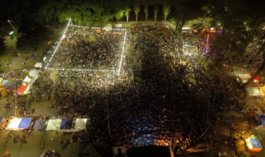 Exitosa y multitudinaria edición del Festival de Cerveceros mercedinos
